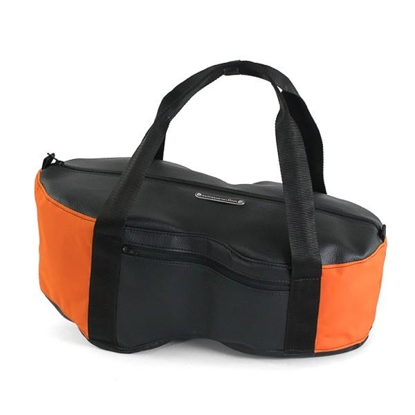 Helmfachtasche Classic - Orange/Schwarz