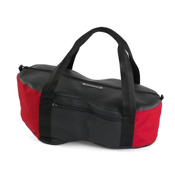 Helmfachtasche Classic - Rot/Schwarz